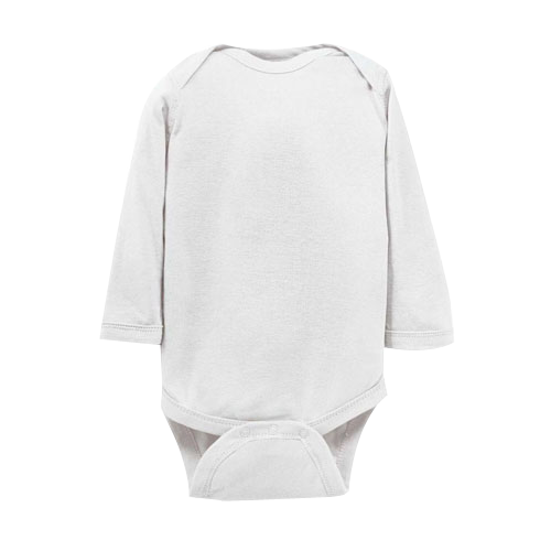 Rabbit Skins Infant Long Sleeve Bodysuit