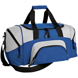 Port & Co. Small Colorblock Sport Duffel Bag