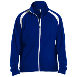Sport-Tek Mens Raglan Sleeve Warmup Jacket