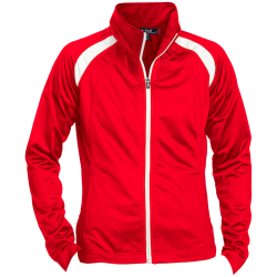 Sport-Tek Ladies Raglan Sleeve Warmup Jacket