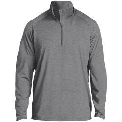 Sport-Tek Mens 1/2 Zip Raglan Performance Pullover