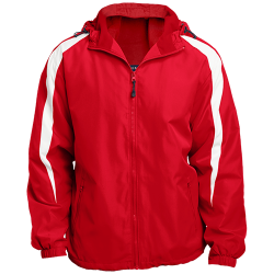 Sport-Tek Youth Colorblock Fleece-Lined Jacket