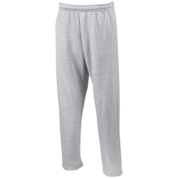 Gillian Unisex Open Bottom Sweatpants with Pockets