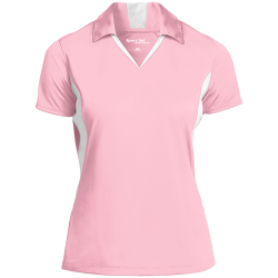 Sport-Tek Ladies Colorblock Performance Polo