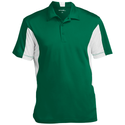 Sport-Tek Mens Colorblock Performance Polo