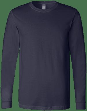 Bella + Canvas Mens Jersey LS T-Shirt