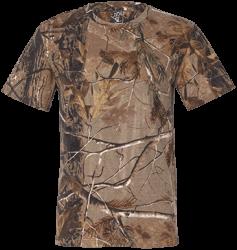 Code V Mens Short Sleeve Camouflage T-Shirt
