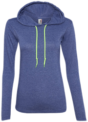 Anvil Ladies' LS T-Shirt Hoodie