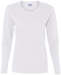 Gildan Ladies' Cotton LS T-Shirt