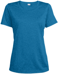 Sport-Tek Ladies Heather Dri-Fit Moisture-Wicking T-Shirt