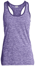 Sport-Tek Ladies' Moisture Wicking Electric Heather Racerback Tank