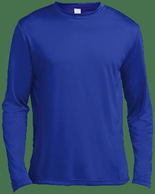 Sport-Tek Tall LS Moisture Absorbing T-Shirt